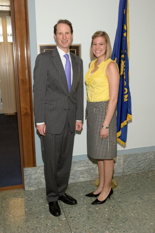 Me with Senator Ron Wyden