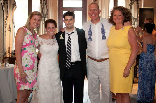Me, the bride, the groom and the parents