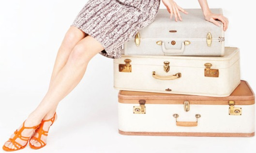 OK, don't worry. I won't be bringing more than one suitcase. (Photo from Levo.com)