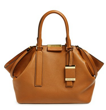Michael Kors Large Lexi Leather Satchel
