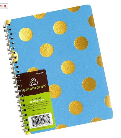 Target Greenroom Metallic Pattern Notebook