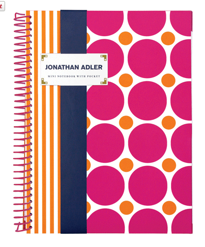 Jonathan Adler Mini Notebook