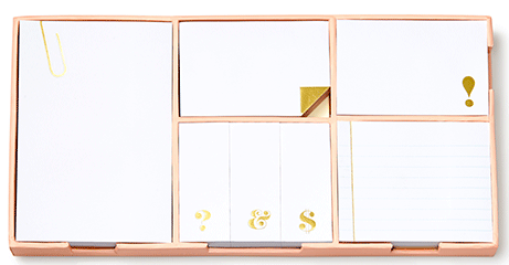 Kate Spade New York sticky note set